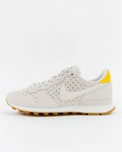 pretty nice official images cheapest Details about Wmns Nike Internationalist PRM UK 4 EUR 37.5 Sail-Vivid  Sulfur-Summit White New