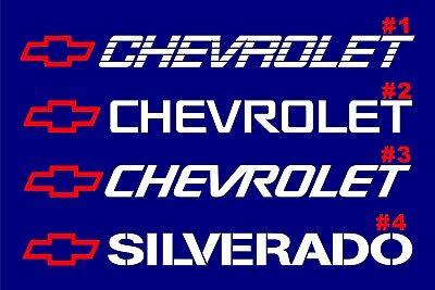 Chevy 454 Banner Z71 1500 Decals Window - Tailgate ...