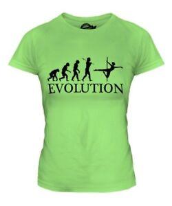 Pole-Dance-Evolution-T-Shirt-Femme-Haut-Cadeau-Dancing-Vetements