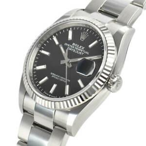 Rolex-Datejust-126234-Steel-36mm-Black-Index-Dial-Oyster-Bracelet-Automatic