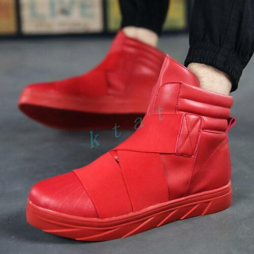 Mens Fashion Thick sneakers Creeper High Top bottom Casual Athletic Shoes Hot