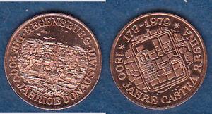 Regensburg-2000-Jahre-Cu-Medaille-18-mm-cc16-stampsdealer