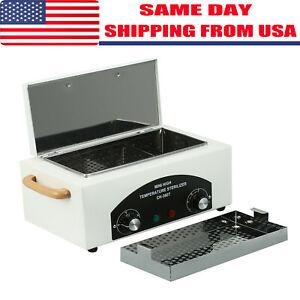 Details About Dry Heat Sterilizer Cabinet Autoclave Magnifier Tattoo Disinfect Salon Machine