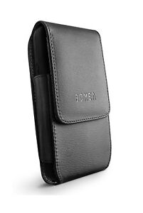 reputable site 2e4c9 97002 Details about Bomea Vertical iPhone 6 6S 7 8 Leather Pouch Belt Case with  Clip Holster Cove...