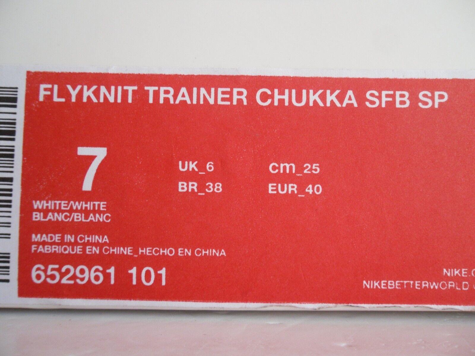 nike flyknit trainer white-white - chukka sfb sp white-white trainer sz 7 0 tier! 90ff9a