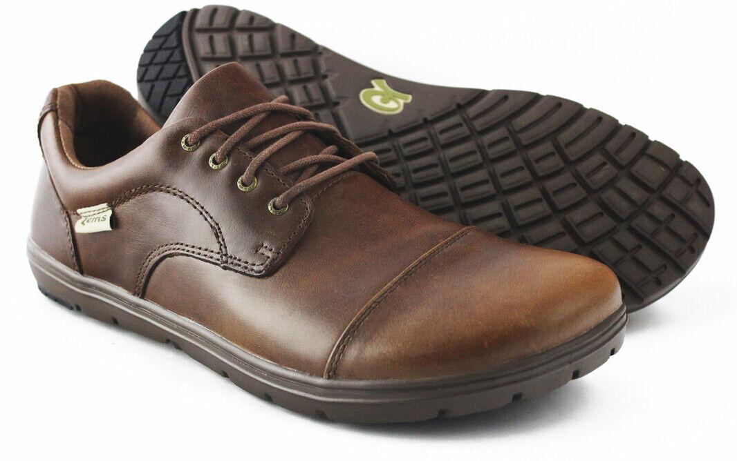Lems Nine 2 cinco  Control de Q 2 Zapato De Oficina NDS  Marrón Moca tamaño UK11.5, EU47 RP