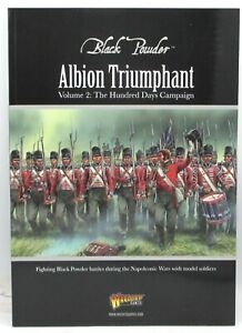Details about Black Powder Albion Triumphant Volume 12 Hundred Days  Campaign (Book) Napoleonic