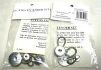 Lot Of 6 Button Extenders Waist Expanders Pants Skirt Shirt Jeans Maternity A-7