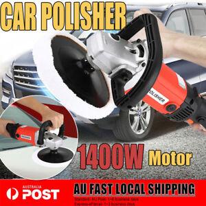NEW-180mm-Electric-Car-Polisher-Buffer-1400W-Detailing-Tools-Buff-Pad-Auto-Wax