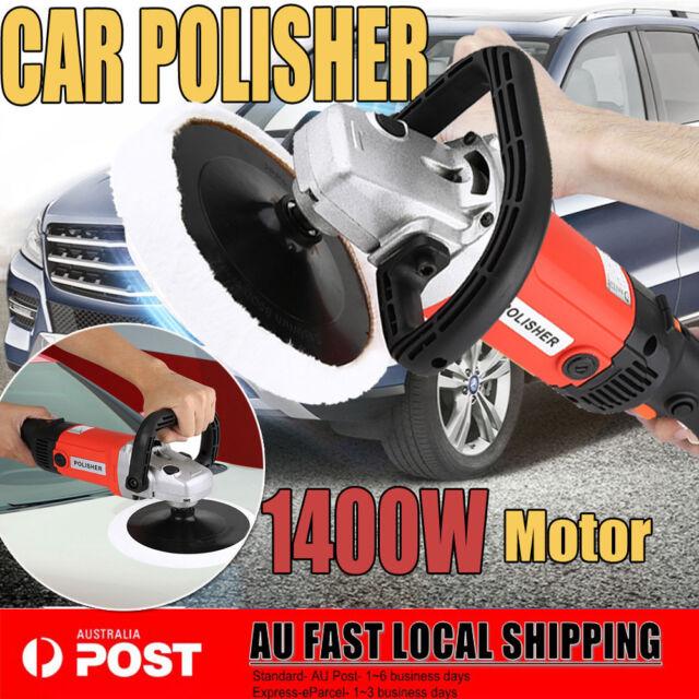 New 180mm Electric Car Polisher Buffer 1400W Detailing Tools Buff Pad Auto Wax