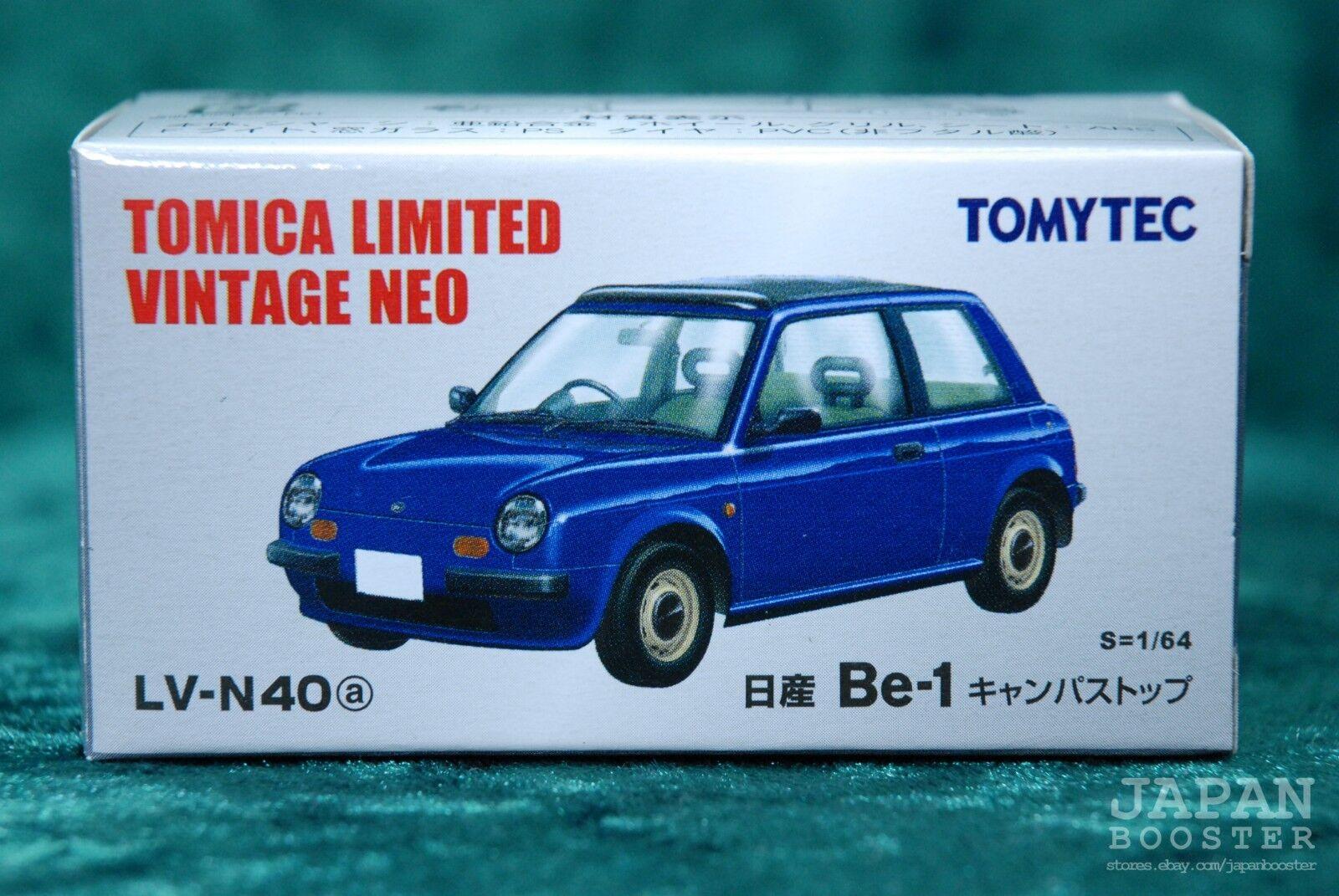 Tomica Limited Vintage Neo Lv N40b Nissan Be 1 Canvas Top Red Blue 2 Species Set For Sale Online Ebay