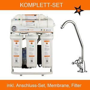 Umkehrosmose-Anlage-Wasserfilter-kein-Kalk-Osmoseanlage-KEIN-TANK-NOTIG