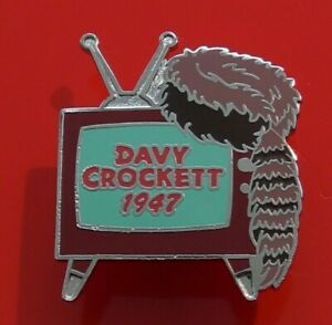 Walt-Disney-Enamel-Pin-Badge-Davy-Crockett-1947-Error-Pin-Millennium-94
