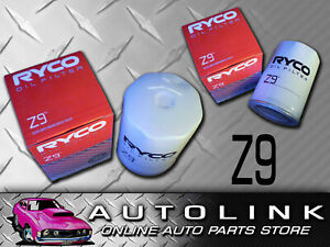 Ryco Z9 Replacement Oil Filter For Ford Falcon Xh Ea Eb Ed Ef El Au 6cyl V8 Ebay