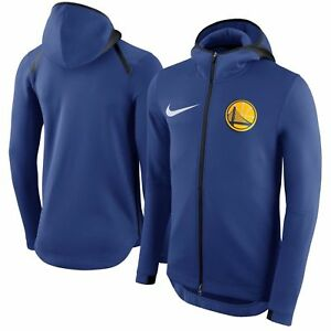786693c2e98d Details about Nike NBA Golden State Warriors Therma Flex Showtime Hoodie   899799-496 Size
