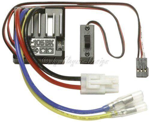 SPEED Controller TAMIYA 45055 teu-105bk regolatore di viaggi BEC