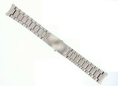 22MM WATCH BAND BRACELET FOR 45MM OMEGA SEAMASTER PLANET OCEAN STAINLESS STEEL 4