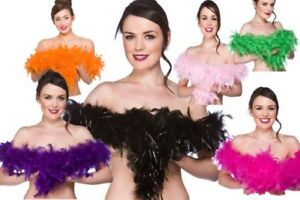 Ladies-Feather-Boas-Rocky-Horror-Halloween-Fancy-Dress-Accessory-Boa