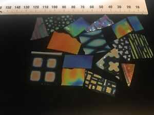 Dichroic Glass 90COE 30g - Jewellers, Scrap, Testing (CBS, Dichro Magic)