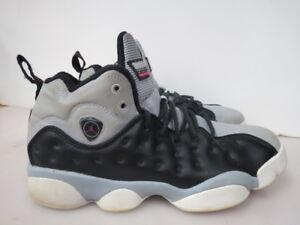 meet ee8ab 9a6d1 Image is loading Nike-Air-Jordan-Jumpman-Team-II-GG-Black-