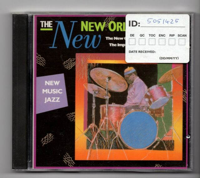 (JE23) The New New Orleans Music, New Music Jazz, 8 tracks - 1988 CD