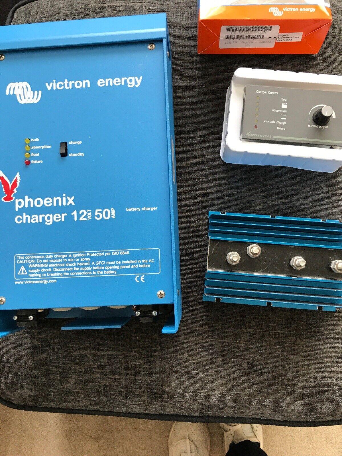 Phoenix-Cargador 12//50 2 -Cargador de bater/ía victron-energy