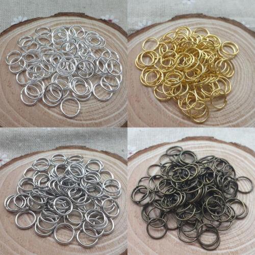 4mm//5mm//6mm//7mm//8mm//9mm//10mm//12mm Jump Rings Open Connectors Jewelry Making DIY