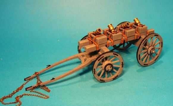 John Jenkins Battle On The Monongahela Jjclub Set 14 Mortaio Carro MIB