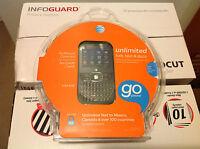 Z432 At&t Gophone - Black (at&t) Cellular Phone / Not Refurbished / Sealed