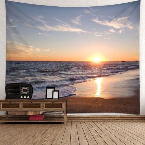 Wandbehang Wandteppich Tapisserie Wandtuch Tapestry Wanddeko 180x180cm Meer