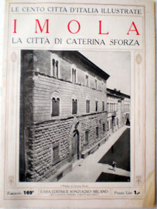 Cento-Ciudad-de-Italia-Ilustradas-1920-Imola-la-Ciudad-por-Caterina-Sforza