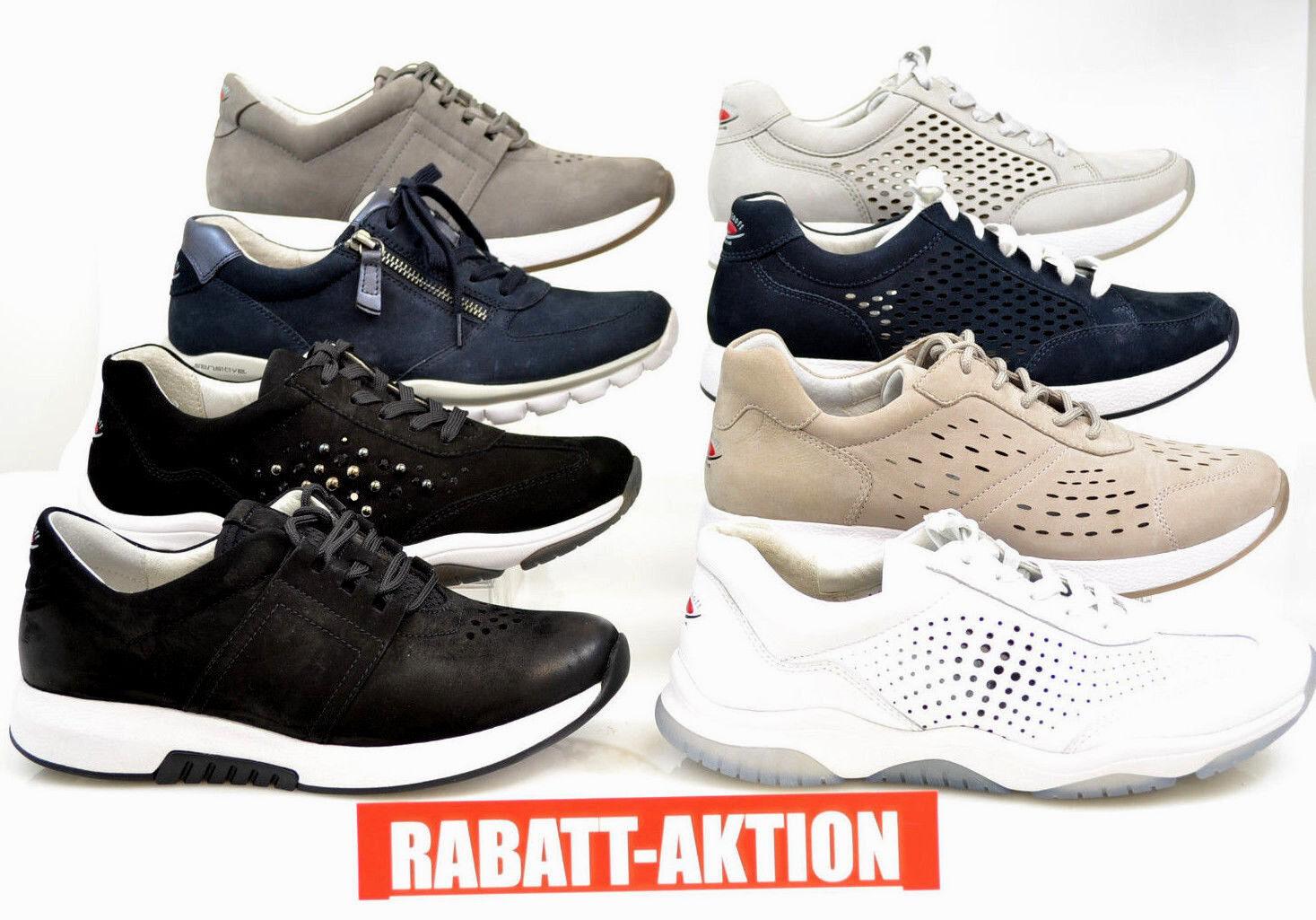 NEU GABOR Comfort Rollingsoft Schuhe Sneaker Leder NEU 4,5 FS 18 ROTUZIERT  4,5 NEU  37 5eec01