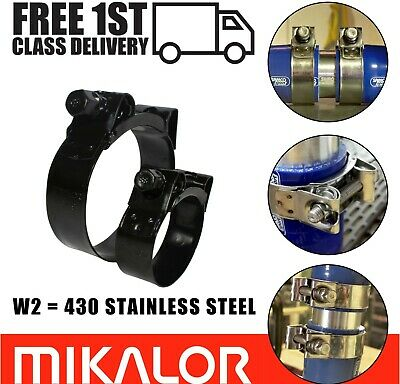 Free Choice of Sizes Heavy Duty Stainless Steel T-Bolt Hose Clamp Clip