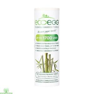Details about ecoegg Re-Usable Bamboo Kitchen Towels White, Super Strong,  Amazingly Absorbent,