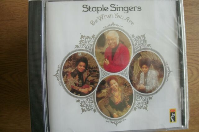 *NEW*  The Staple Singers - Be What You Are (CD) . FREE UK P+P .................