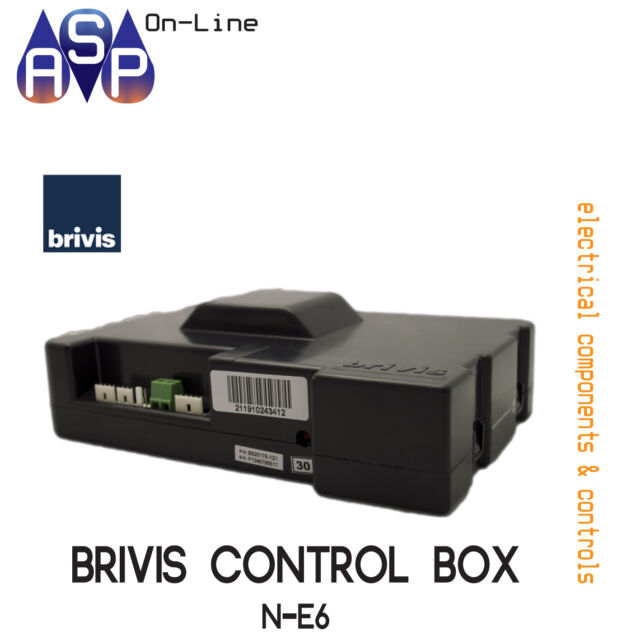 BRIVIS ELECTRONIC BOARD CONTROL N-E6 (NO SWITCH) - Part# B021191