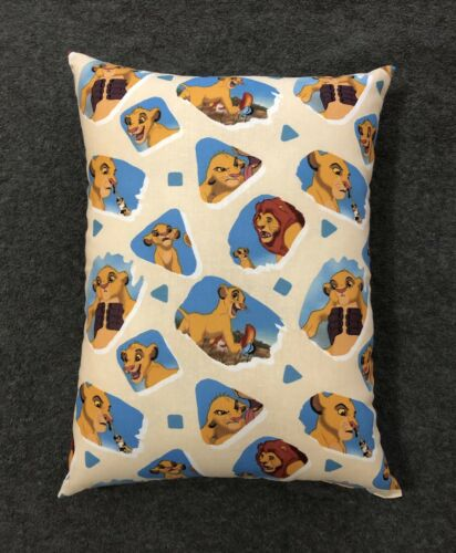 "Throw Pillow 12"" x 9"" Beautiful Handmade The Lion King Accent"