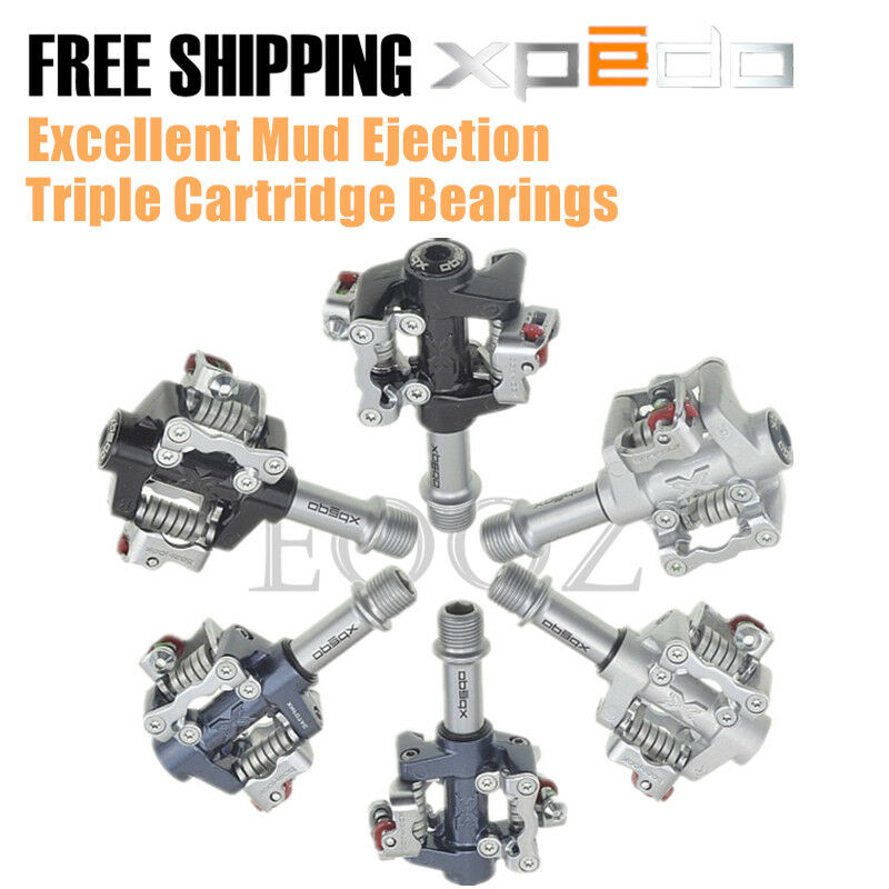 Xpedo TWINS XMF07AC MTB Mountain Bike Clipless Pedals SHIMANO SPD Compatible