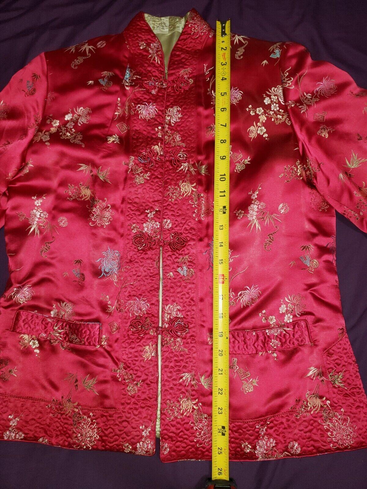 Qipao Long Sleeve Top Brocade - image 5