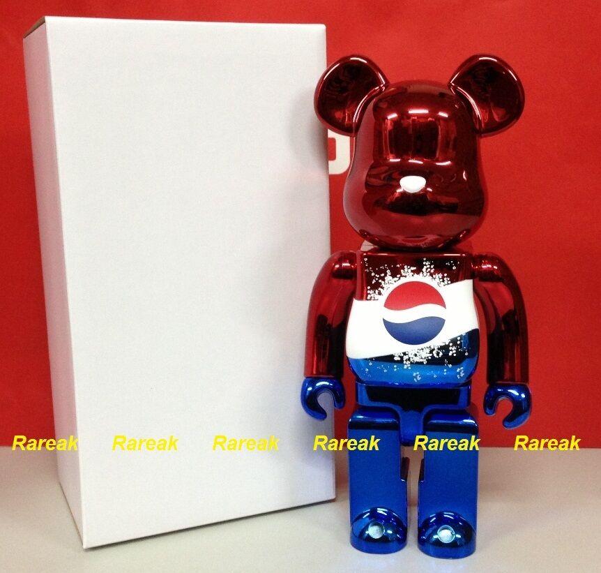 Medicom Be@rbrick 2011 Pepsi premio de lotería Rojo Metálico 400% Bearbrick limitada