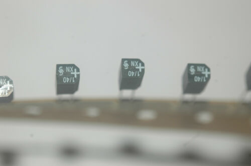 -20/% Capacitor Cut Tape New Quantity-25 SIEMENS B45181-C4105M8 Radial 1UF 40V