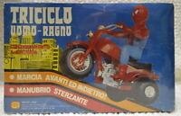 Spider-man Tri Cycle / Triciclo Uomo Ragno Batt Op Italy Only 1980 Gio