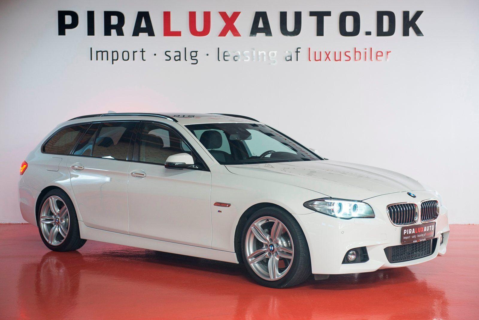 BMW 525d 2,0 Touring M-Sport aut. 5d - 2.850 kr.