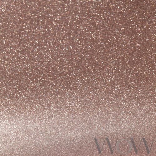 WORLD OF WALLPAPER WWC015 SPARKLE NEW LUXE GLITTER SPARKLE WALLPAPER ROSE GOLD