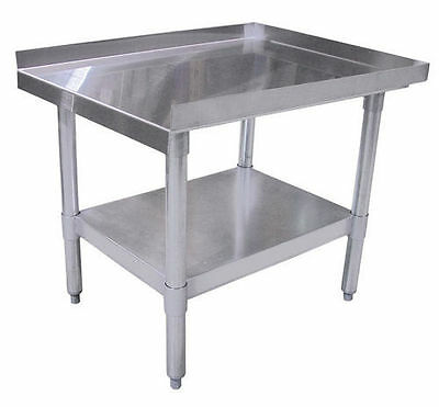 New! 30 x 24 Commercial Heavy Duty Stainless Steel Equipment Stand