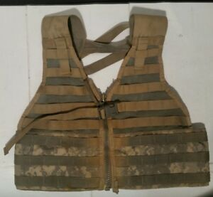 USGI-ACU-MOLLE-II-FIGHTING-LOAD-CARRIER-FLC-TACTICAL-VEST-Good-DIGITAL-CAMO
