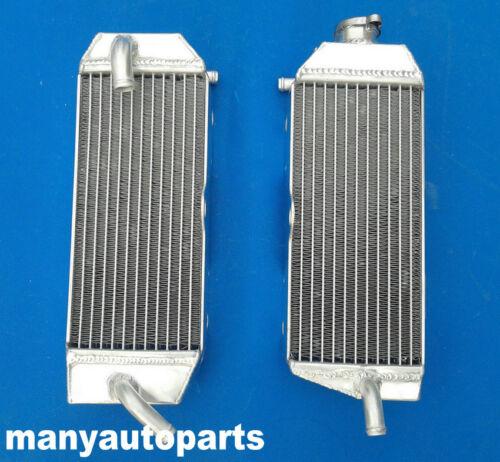 FOR YAMAHA YZ426F//WR426F 2000 2001 2002 2003 Aluminum radiator and BLUE HOSE