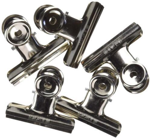 Briefklemmer Metall Breiter Verschlussclip 50 Mm Klemmweite 20 Mm10 StüCk