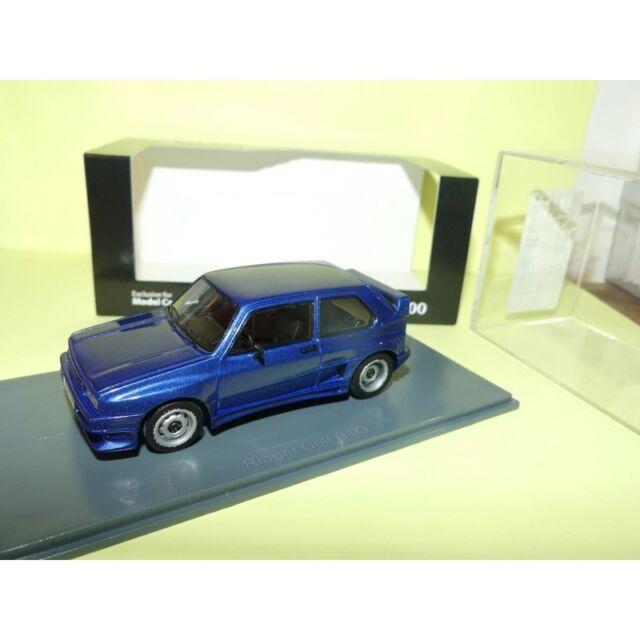 VW GOLF 1 GTO Bleu NEO 1:43
