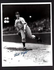 Bill-Wight-D-2007-Signed-Autograph-N-Yankees-8x10-Photo-JSA-R31146